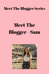 Meet The Blogger Series